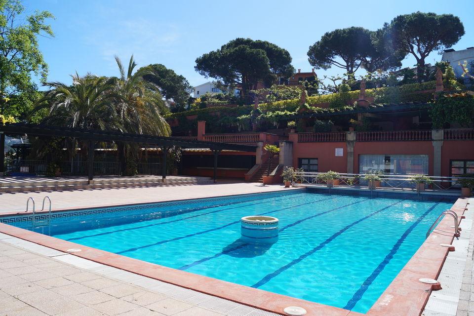 Maison en location pr s de la plage cala canyelles lloret for Location maison lloret del mar avec piscine