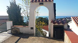 House with spectacular views and great location for sale in Cala Canyelles