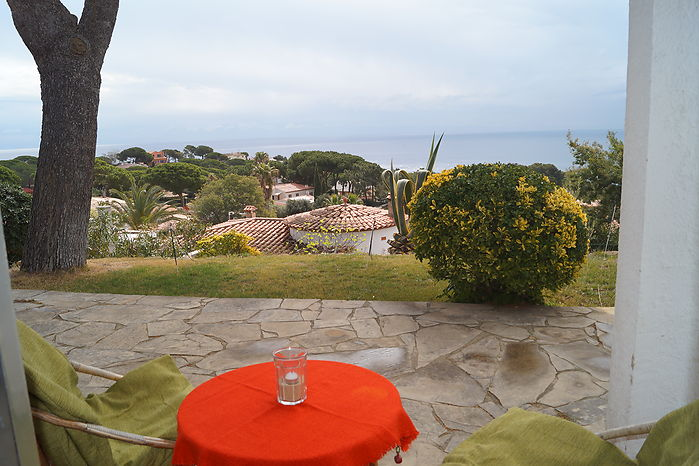 House for rent with spectacular views, near the beach of Cala Canyelles in Lloret de Mar