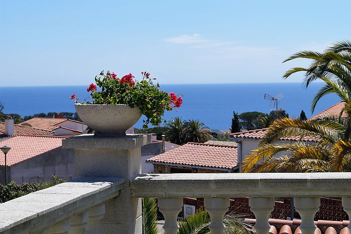 Nice house with beautiful garden for rent in Cala Canyelles.