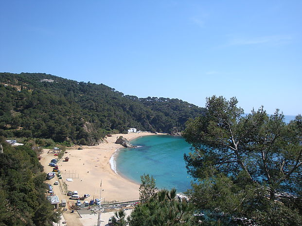 House for rent with pool and sea views. (Cala Canyelles-Lloret de Mar)