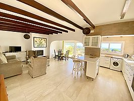 Modern house for rent with pool and sea views. (Cala Canyelles-Lloret de Mar)