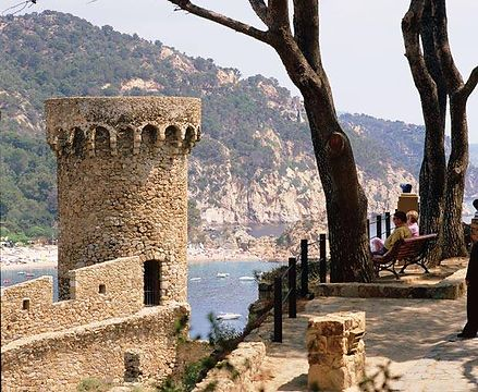 Watchtowers in Tossa de Mar.